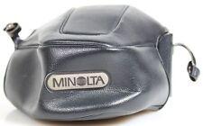 MINOLTA CAMERA CASE BLACK VINTAGE