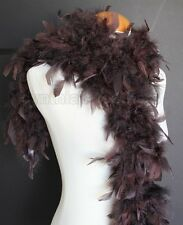 Chocolate Brown 45 Grams Chandelle Feather Boa Dance Party Halloween Costume