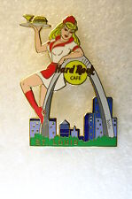 ST.LOUIS,Hard Rock Cafe Pin,SEXY Server with City View