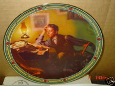 Old,Collector,Plate,Rockwell,A Young Man's Dream,Box