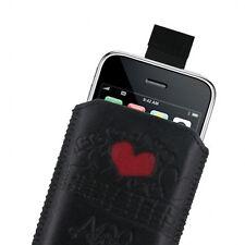Amy Winehouse progettato Leather Slip COVER IPHONE 3G 3GS 4 4S 5 5S Nuovo di Zecca
