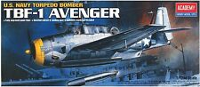 1/72 TBF-1 AVENGER / ACADEMY MODEL KIT / #1651