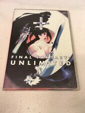Final Fantasy Unlimited: Phase 1 - 2003 Anime DVD Video - COMPLETE & MINT!