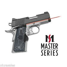 Crimson Trace Master Series Lasergrips G10 Black/Grey For 1911 Compact - LG-905