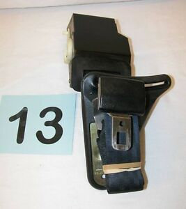 88-92 Camaro Firebird Black Driver LH Rear Seat Belt Retractor  #13