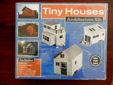 NEW Tiny Houses Floor Plan Architecture Kit, Build Your Own