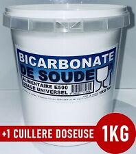 ⭐ 1KG | BICARBONATE DE SOUDE SODIUM ALIMENTAIRE E500 USAGE UNIVERSEL