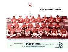 1975 TACOMA TWINS PCL TEAM 8X10 PHOTO MINNESOTA BASEBALL WASHINGTON