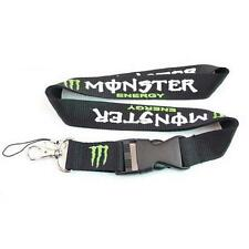 Monster Energy Racing Motor Sports Lanyard Id Holder Cell Phone Strap Keychain