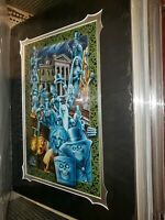Disney Parks Haunted Mansion 50th Welcome Foolish Mortals Fraser Print New