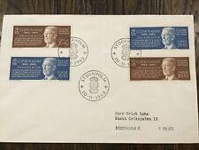 Stamps Sweden Fdc 1962 King Gustaf Vi Adolf - 1V Mint
