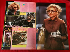 Batman Returns LARGE Official Movie Program promo book Excellent vtg 1990s