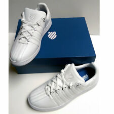 NEW K-Swiss Classic VN Fashion Sneaker Tennis Shoes White 03343-101-M Size 12