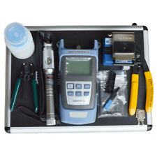 FTTH Tools KIT,Fiber Optic Fast Connector, Power Meter, Cleaver Test Equipment