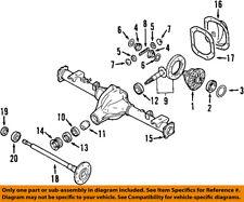 NISSAN OEM Rear Differential-Side Bearings 38440N3111