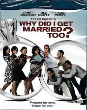 NEW BLU-RAY // Tyler Perry's Why Did I Get Married Too? // Janet Jackson, Jill S