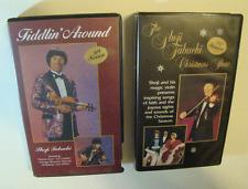 Shoji Tabuchi VHS Lot Fiddlin' Around '89 Season & Christmas Show '90 Season