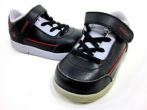 AIR JORDAN CLASSIC '87, BLACK/RED/GREY, TODDER'S SIZE US Size 4.5