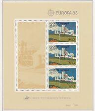 Europa CEPT 1983 Grote Werken Azoren Blok 4 - Postfris MNH cat waarde € 8