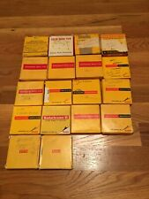 VINTAGE KODACHROME FILM 8 MM LOT - 18 ROLLS - WORLD TRAVELS - 1960'S