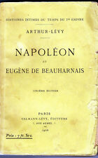 C1 NAPOLEON Arthur Levy NAPOLEON ET EUGENE DE BEAUHARNAIS