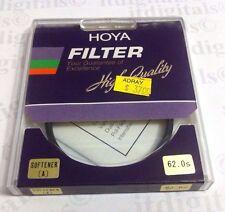 Hoya 62mm Suavizante UN SUAVE FOCUS CRISTAL FILTRO OBJETIVO Japón de )