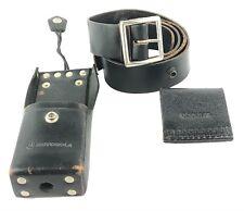 Motorola Leather Radio Case with 2 Swivel Leather Belt 42C82421J06 3-4 Piece Set