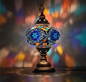 9 Variations Mosaic Turkish Moroccan Table Lamp