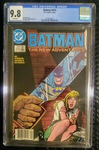 Batman 414 CGC 9.8 White Pages Newsstand Copy Only 14 in 9.8! Tough Dark Cover