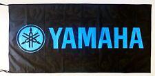 YAMAHA FLAG BLACK/BLUE - SIZE 150x75cm (5x2.5 ft) - BRAND NEW