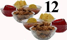 Glass Bowls Set of 12 Serving Salad Fruit Desserts and Party (Dishwasher Safe)