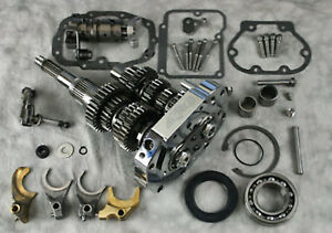 Ultima 6-Speed Transmission Builders Kit Harley Softail Dyna Touring Gear Set