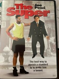 The Super DVD RES Joe Pesci movie RARE hilarious My Cousin Vinny era comedy. R1