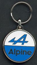 Renault Alpine Schlüsselanhänger Logo emailliert - Maße Emblem 38mm