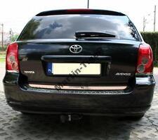 Toyota AVENSIS T25 Estate - CHROME Rear Trim Strip Trunk Tuning Tailgate Garnish