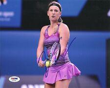 Victoria Vika Azarenka Tennis Signed Auto 8x10 PHOTO PSA/DNA COA