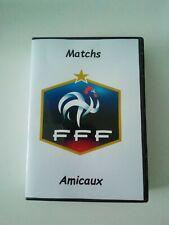 Equipe de France Matchs Amicaux Coffret DVD 2017-2018 (lire L'annonce)