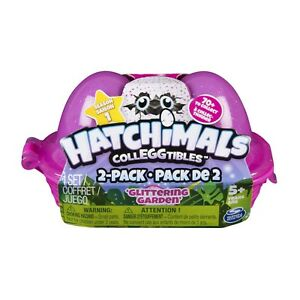 NEW LITTLE LIVE PETS HATCHIMALS COLLEGGTIBLES 2 PACK GLITTERING GARDEN 6038297