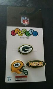 Licensed NFL Green Bay Packers Jibbitz Pick Helmet, 'G', Packers text RARE!