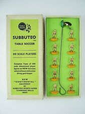 Subbuteo Early/Old Heavyweight Team (H/W) WOLVES, WATFORD Ref. 6 - Boxed