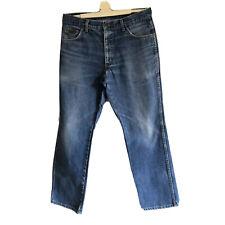 """Wrangler Blue Mens Jeans Waist 34"""""""