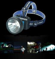 (EU) Waterproof Headlamp Flashlight High Power Rechargeable Headlight LED white