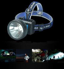 Waterproof Headlamp Flashlight High Power Rechargeable Headlight LED white