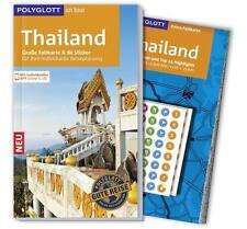 REISEFÜHRER Thailand 15/16 + Landkarte~ POLYGLOTT, wie neu, ungelesen, PORTOFREI