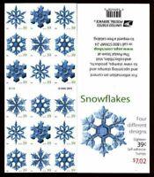 2006 Sc 4116b ATM sheet of 18 SNOWFLAKE matte finish CV $22