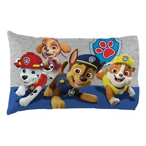 New Paw Patrol Standard 1 Piece Reversible Pillowcase for Kids - 20 X 30 Inch