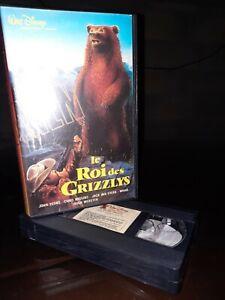 Vhs Le Roi Des Grizzly Disney RARE