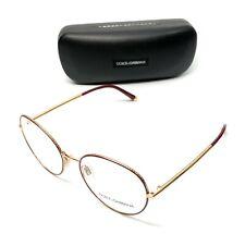 Dolce & Gabbana DG 1313 1333 Burgundy Women's Authentic Eyeglasses Frame 54-17