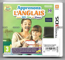 APPRENONS L'ANGLAIS AVEC BIFF CHIP ET KIPPER Neuf sous blister Jeu Nintendo 3DS