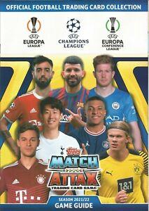 Topps Match Attax Champions League 2021/2022 Basis Karten Nr_244-387  21/22